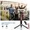 Thumbnail: מוט סלפי מקצועי נפתח לחצובה כוללשלט אלחוטי לצילום מרחוק