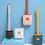 Thumbnail: מברשת סיליקון בעיצוב חדשני לניקוי האסלה