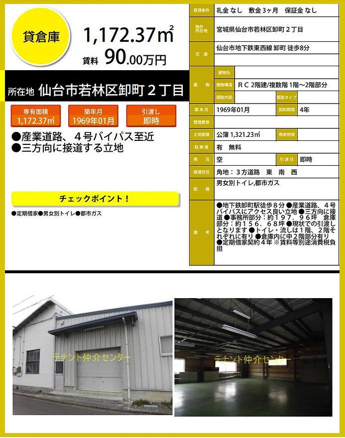 仙台 仙台市 貸事務所 賃貸オフィス 貸倉庫