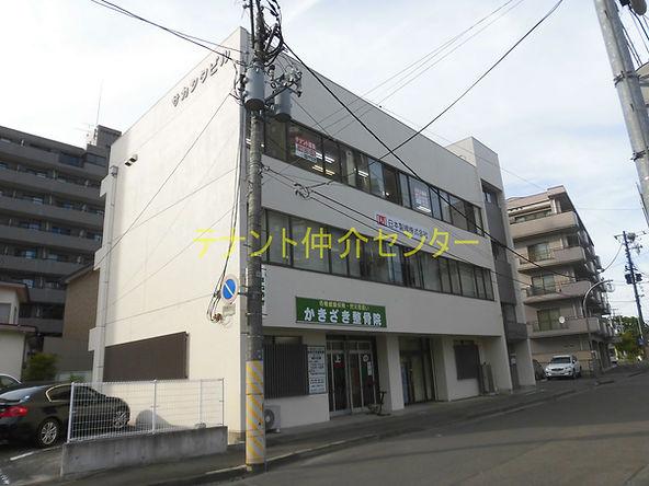 【外観】仙台 貸事務所 賃貸オフィス テナント  サカシタビル