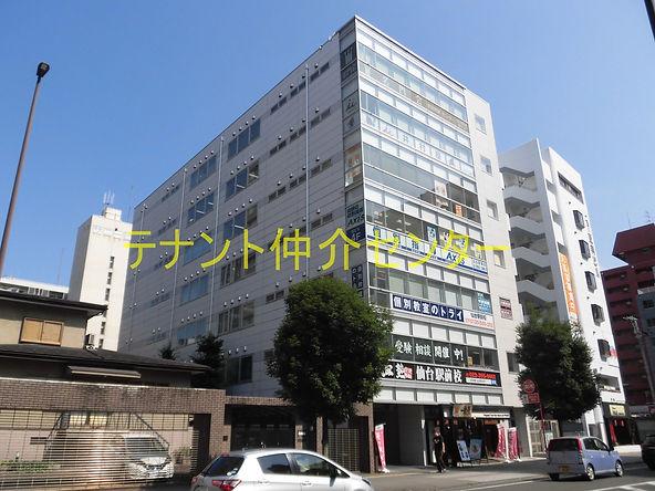 【外観】仙台 仙台市 貸事務所 賃貸オフィス テナント  ディーグランツ仙台ビル