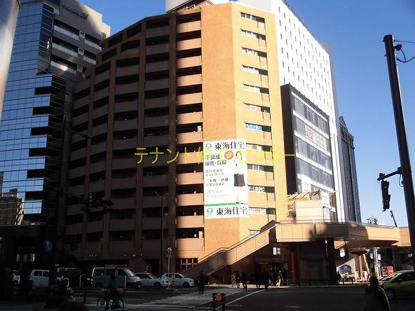 【外観】仙台 貸事務所 賃貸オフィス テナント 朝日プラザ花京院
