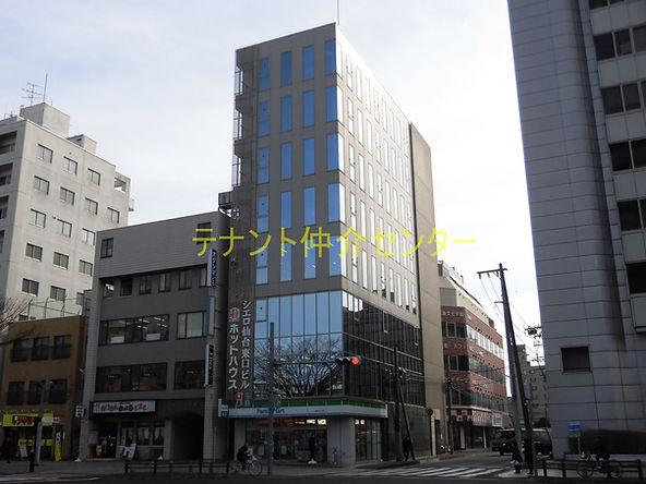 【外観】仙台 貸事務所 賃貸オフィス テナント  シエロ仙台東口ビル