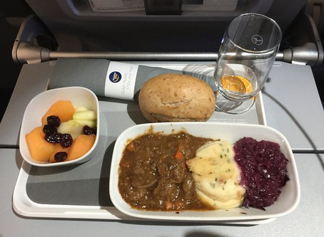 Lufthansa calls it progress!  Cuts more on Meals for guests.