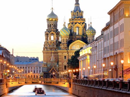 Russland ohne Internationale Touristen