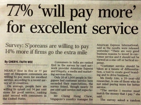What is excellent service ?