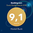 Hostal Buró Guest Review Award 2018