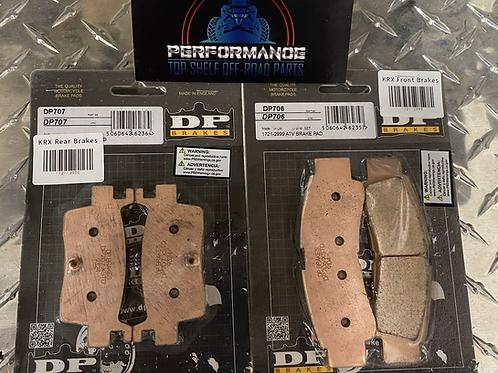 KRX 1000 DP SINTERED BRAKE PADS