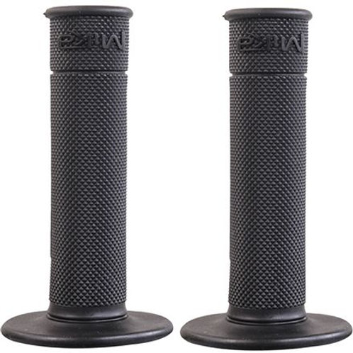 MIKA METALS 50/50 WAFFLE GRIPS (BLACK)
