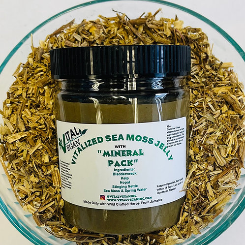 VITALized Sea Moss Jelly with Mineral Pack