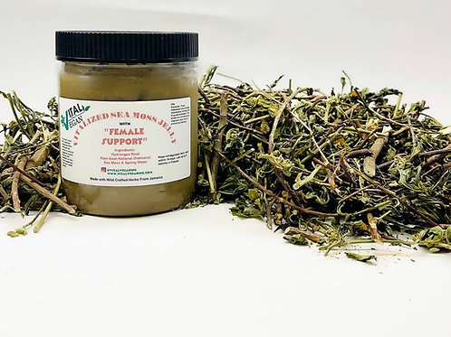Vitalized Sea Moss Jelly with Female Support