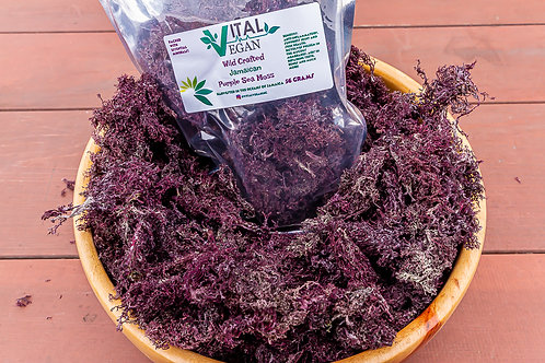 Wild Crafted Jamaican Purple Sea Moss