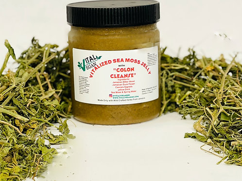 Vitalized Sea Moss Jelly with Colon Cleanse