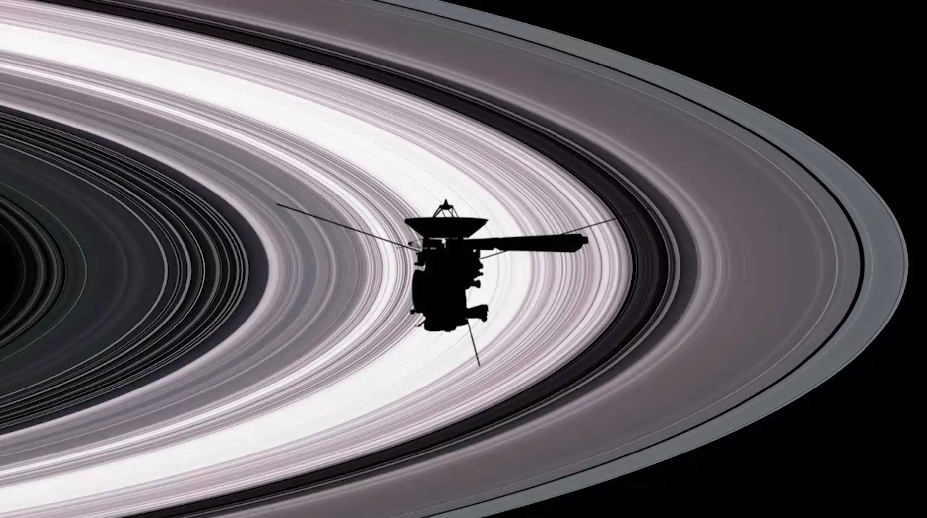 NASA Cassini Finale Music Project
