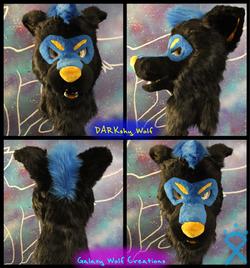 DARKshy Wolf Head