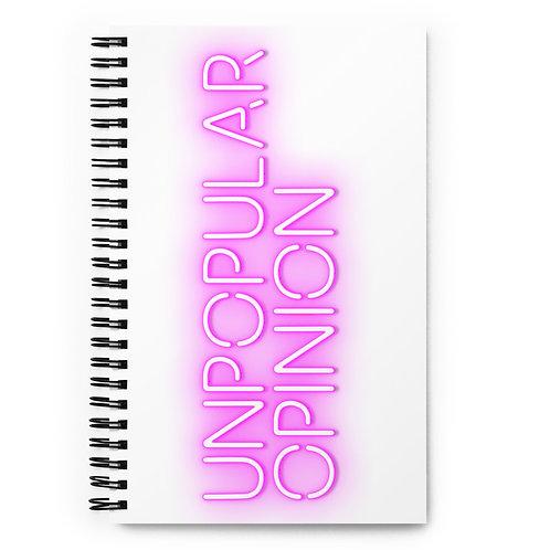 UNPOPULAR OPINION notebook