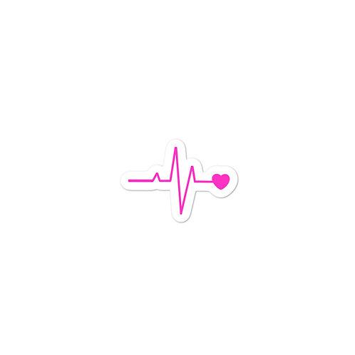 EKG CELLFIE Bubble-free stickers