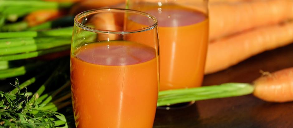 Buvez du jus de carotte pour faciliter votre perte de poids