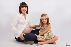 Eva Oliva fotoart embarazo