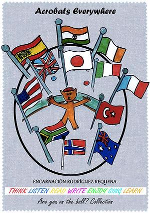 Libro infantil de Encarnación Rodríguez Requena para aprender inglés