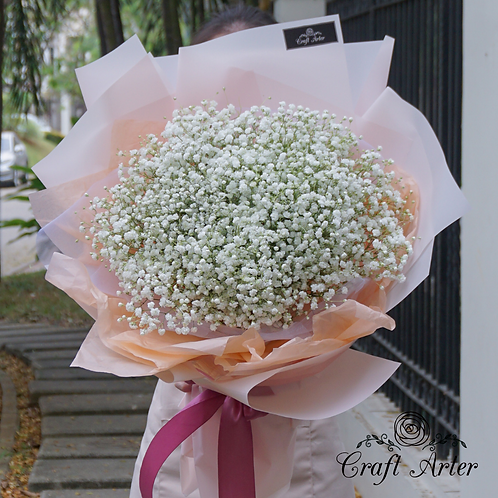 Big Baby's Breath Bouquet