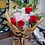 Thumbnail: 10 roses in 3 tone colors bouquet