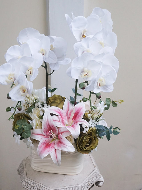 White Orchid Arrangement