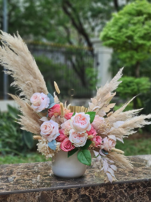Boho Arrangement silk flower