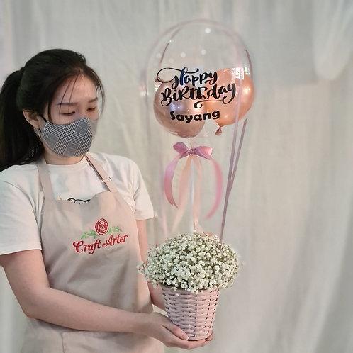 S size hot air balloon