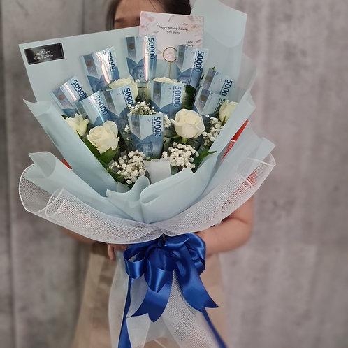 500K Money Bouquet