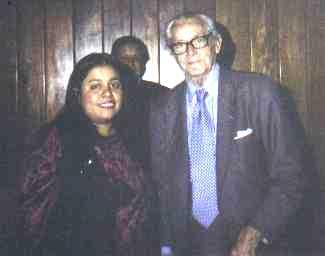 Con el Dr. Adolfo Sánchez Vázquez