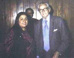Con Adolfo Sánchez Vázquez