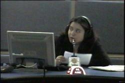 En la cabina de ABC radio