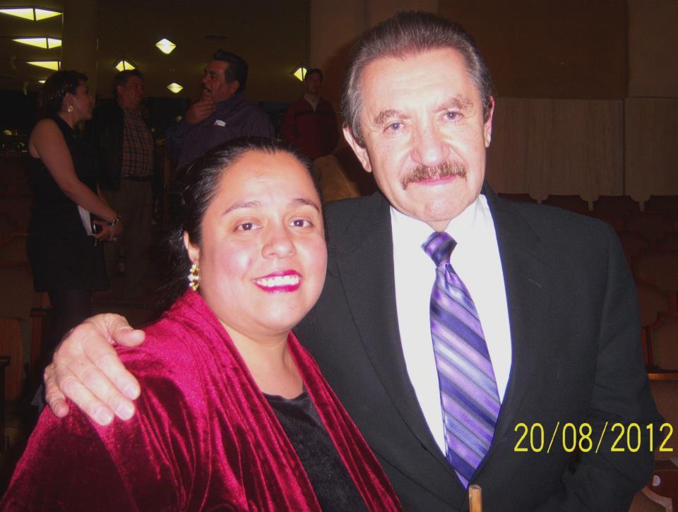 Con Jaime Almeida Q.E.P.D.