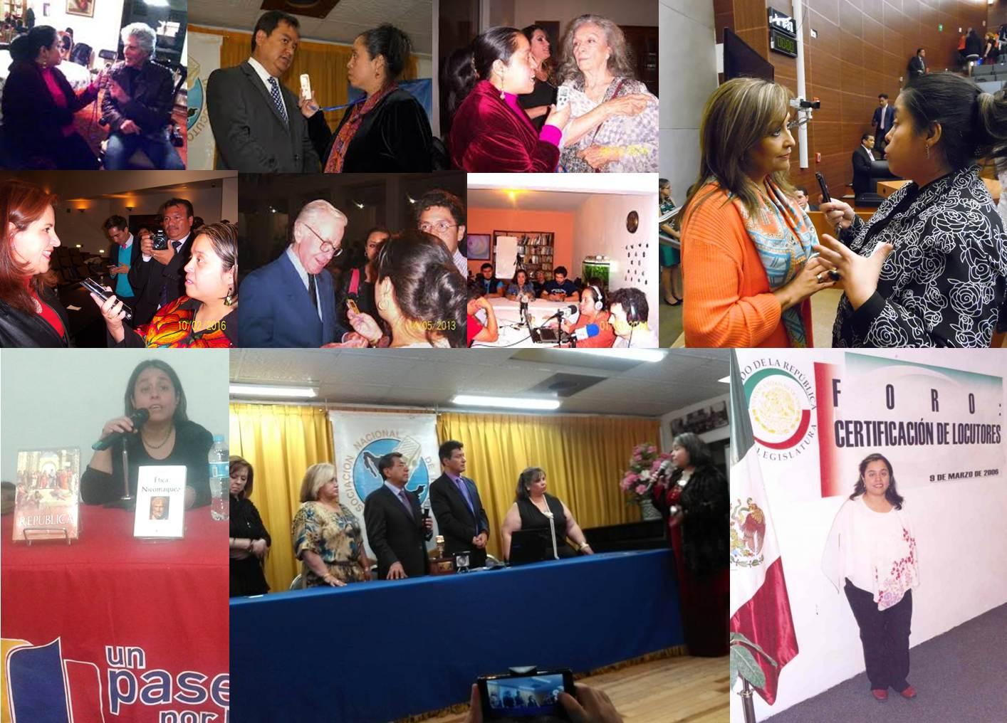 collage de entrevistas