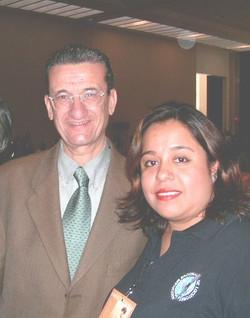 Con Rafael Loret de Mola