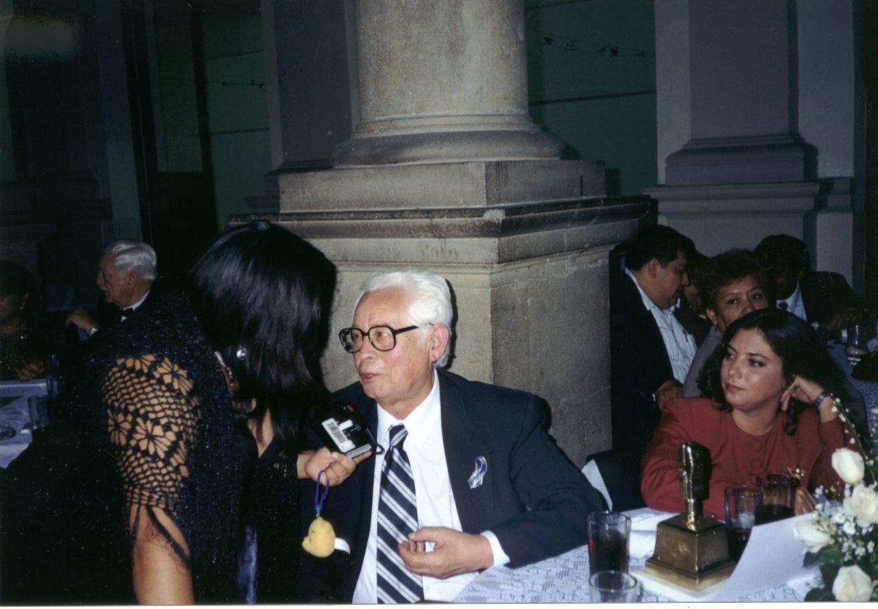 Con Ali Chumacero