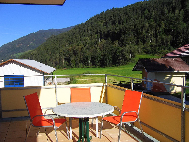 Balkon en uitzicht