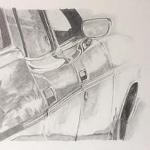 ein Stück Auto