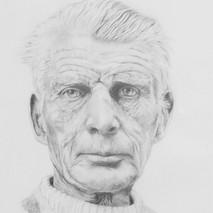 Porträt S. Beckett
