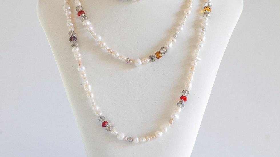 Fresh Water Pearls (Chakra crystals/long)