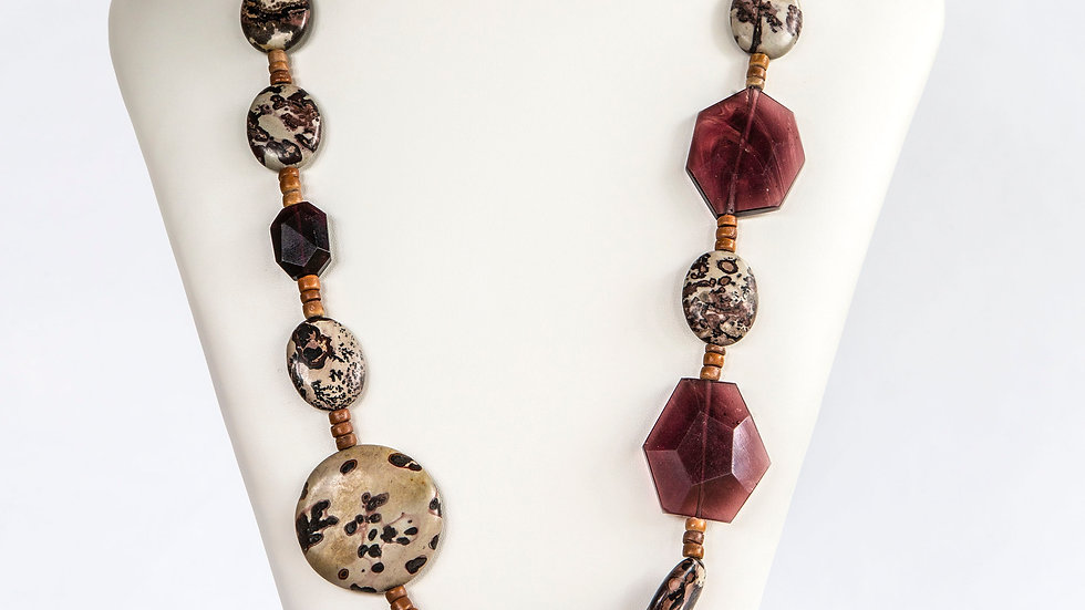 Picture Jasper Necklace