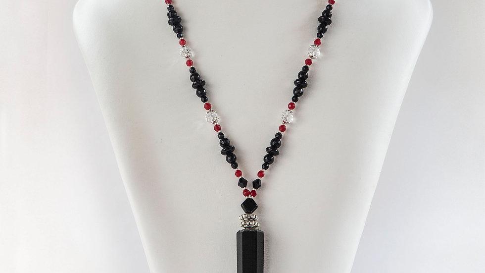 Obsidian Point Pendant