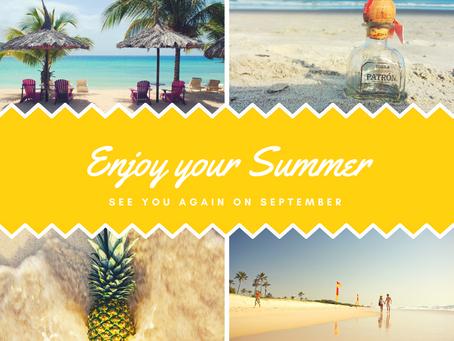 Καλό Καλοκαίρι & Καλές Διακοπές!