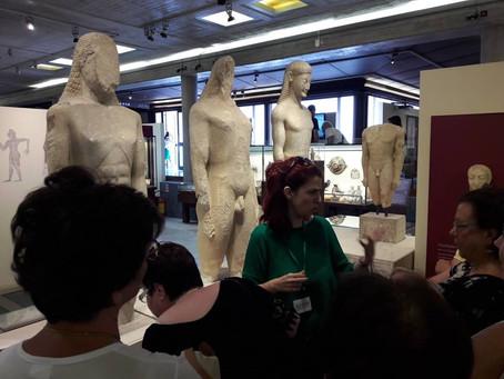 Επίσκεψη στο Σύγχρονο Αρχαιολογικό Μουσείο Θηβών