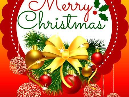 Ευχές για χαρούμενες γιορτές!