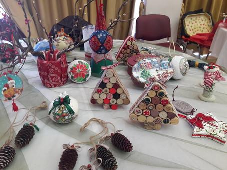 Στιγμιότυπα από το Χριστουγεννιάτικο Bazaar 2017-2018