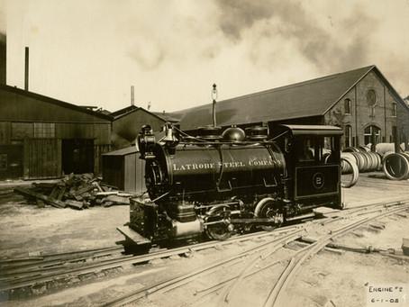 Latrobe's First Steel Mill 1888
