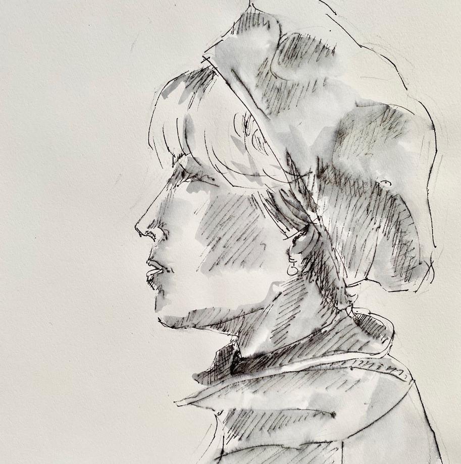 Woman profile