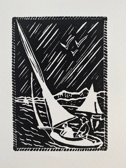 Sailing leisurely